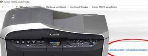 Canon Druckertreiberproblem unter Windows 10